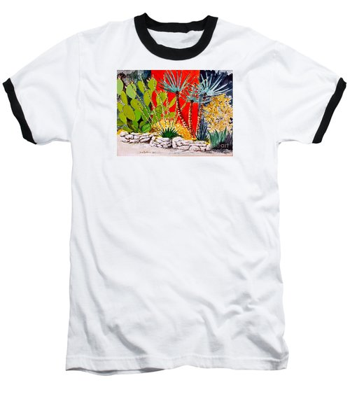 Lake Travis Cactus Garden Baseball T-Shirt