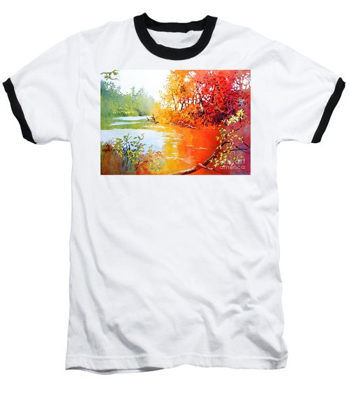 Lakescene 1 Baseball T-Shirt