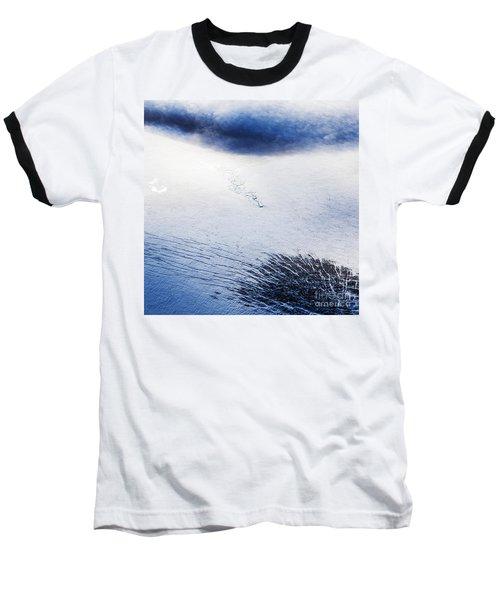 Langjokull Baseball T-Shirt by Gunnar Orn Arnason