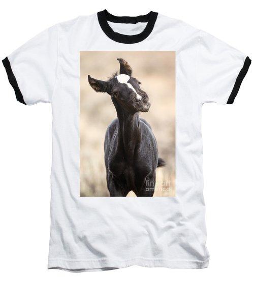Lansa - A Wild Mustang Colt Baseball T-Shirt