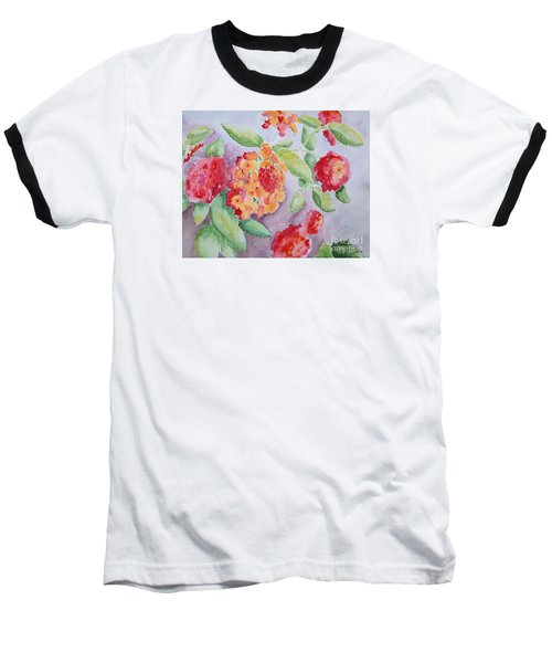 Lantana Baseball T-Shirt by Marilyn Zalatan