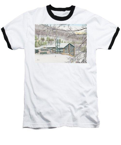 Last Run Of The Day Baseball T-Shirt by Albert Puskaric