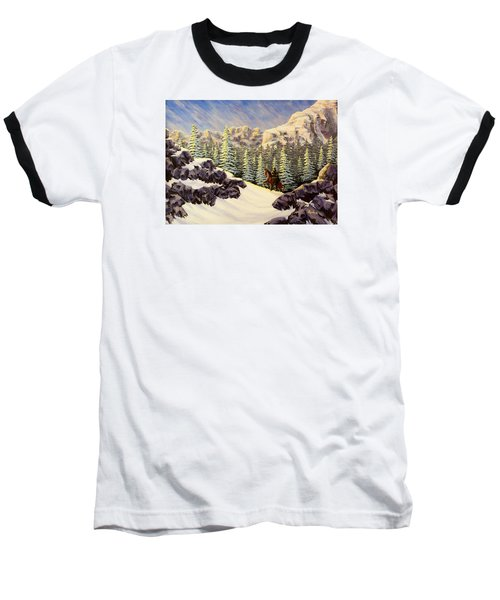 Late Crossing Baseball T-Shirt