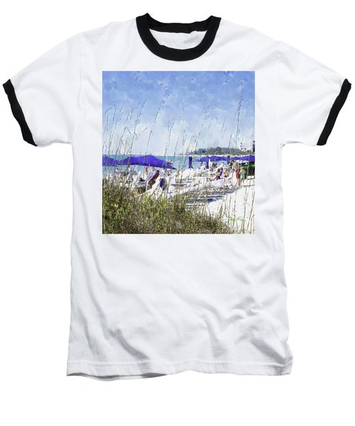 Late Winter Early Spring When Everybody Goes To Florida Baseball T-Shirt by Susan Molnar