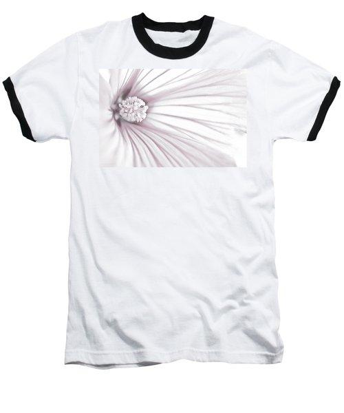 Lavatera Flower Stamen Macro  Baseball T-Shirt