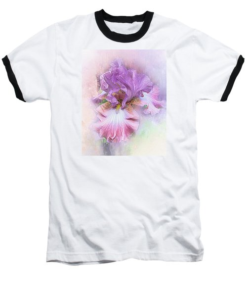 Baseball T-Shirt featuring the digital art Lavendar Dreams by Mary Almond