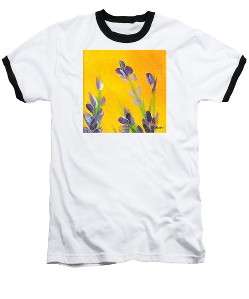 Baseball T-Shirt featuring the photograph Lavender - Hanging Position 2 by Val Miller