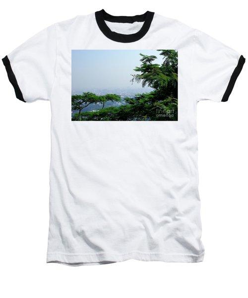 Layers Of Tree Baseball T-Shirt by Kiran Joshi