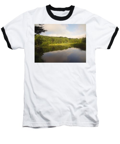 Baseball T-Shirt featuring the photograph Lazy Afternoon by Michael Porchik