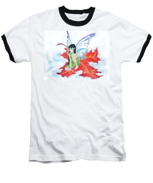 Leaf Fairy Baseball T-Shirt