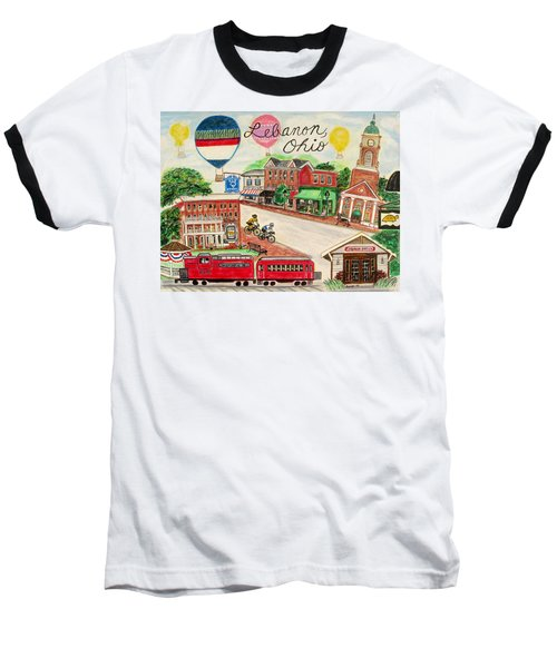 Lebanon Ohio Baseball T-Shirt by Diane Pape