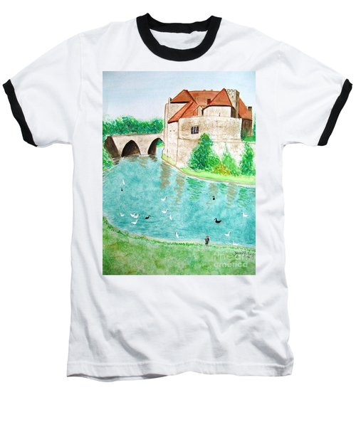 Leeds Castle  Baseball T-Shirt