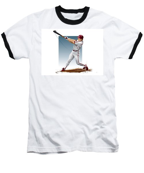 Lenny Dykstra Baseball T-Shirt by Scott Weigner
