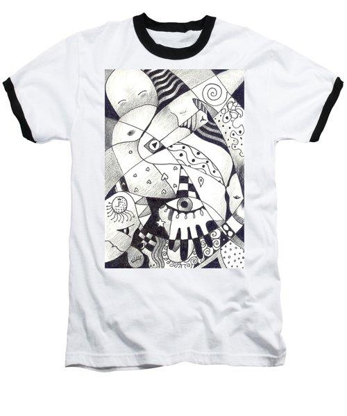 Let Us Dance Baseball T-Shirt by Helena Tiainen