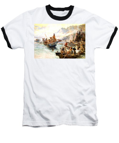 Lewis And Clark On The Lower Columbia  Baseball T-Shirt