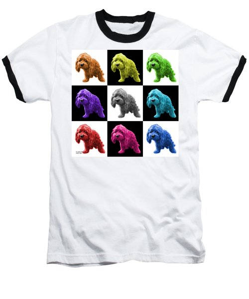 Lhasa Apso Pop Art - 5331 - V2- M Baseball T-Shirt