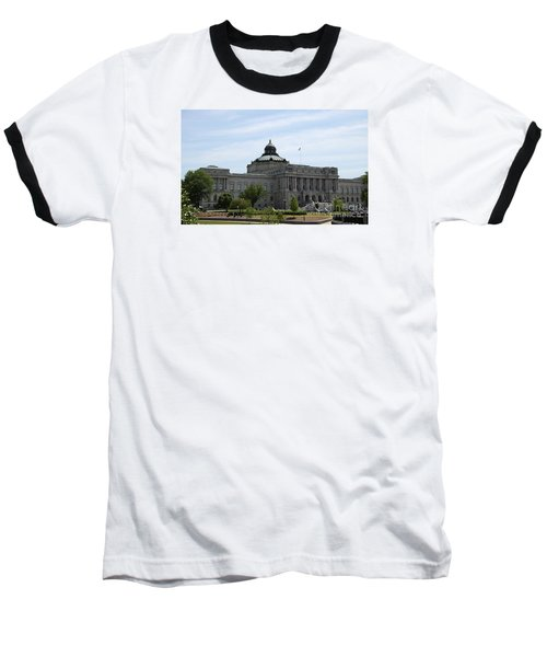 Library Of Congress  Baseball T-Shirt by Christiane Schulze Art And Photography