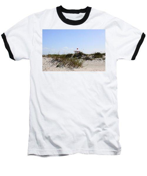 Baseball T-Shirt featuring the photograph Lifeguard Station by Chris Thomas