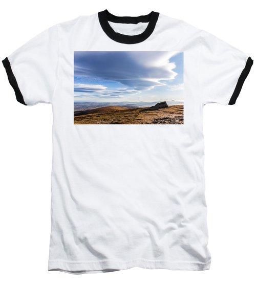 Lightfall On Djouce Mountain Summit Baseball T-Shirt by Semmick Photo