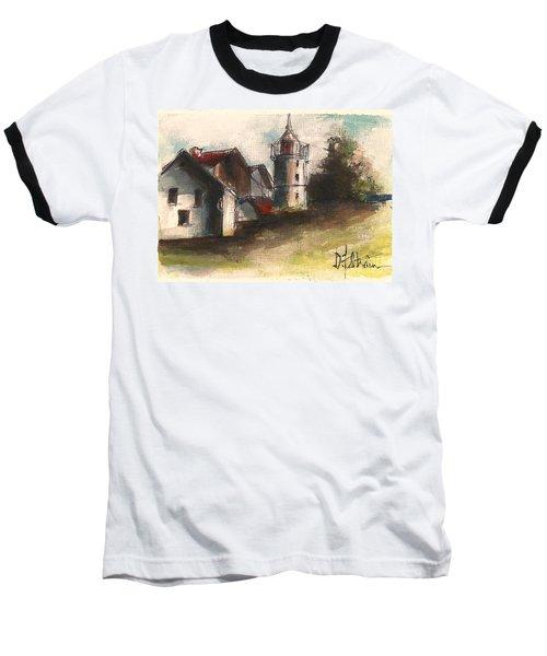 Lighthouse By Day Baseball T-Shirt