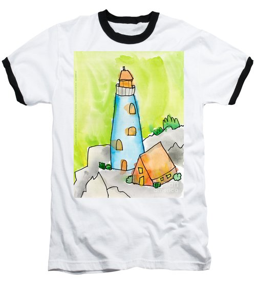 Lighthouse Baseball T-Shirt