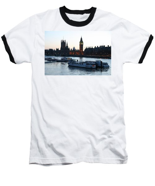 Lighting Up Time On The Thames Baseball T-Shirt