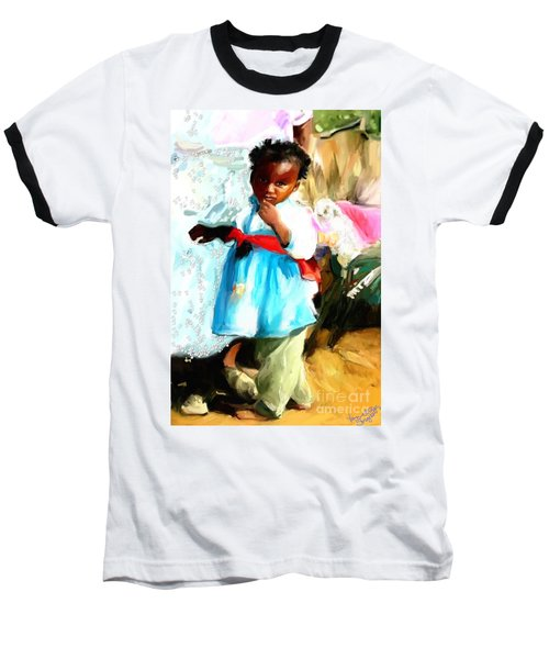 Lil Girl  Baseball T-Shirt