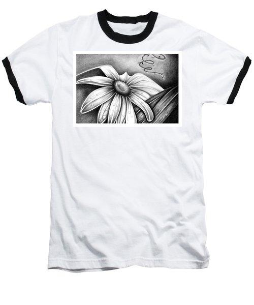 Lily Flower Baseball T-Shirt