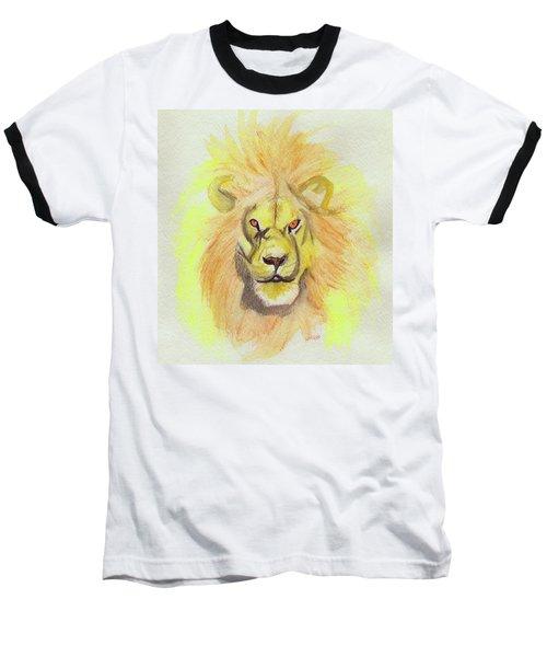 Lion Yellow Baseball T-Shirt