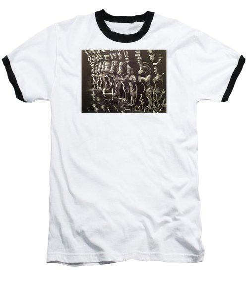 Lionpillars Baseball T-Shirt by Brindha Naveen