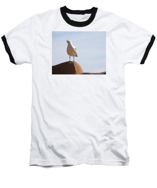 Baseball T-Shirt featuring the photograph Listen-up by Joy Hardee