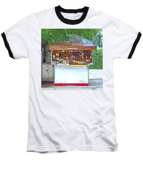 Little Cigar Shop Key West Baseball T-Shirt