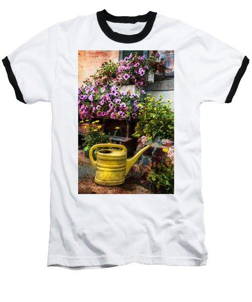 Little Swiss Garden Baseball T-Shirt
