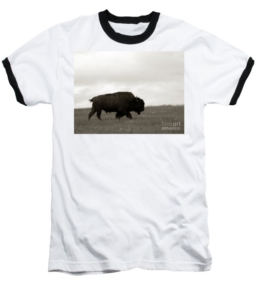 Lone Bison Baseball T-Shirt