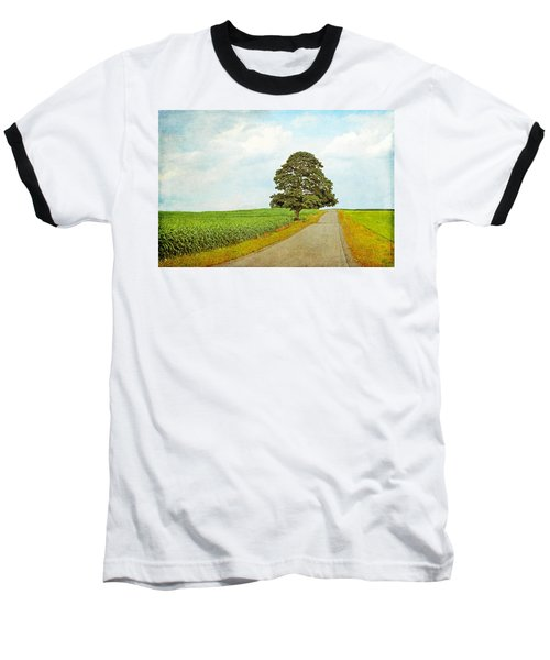 Baseball T-Shirt featuring the photograph Lone Tree by Brooke T Ryan