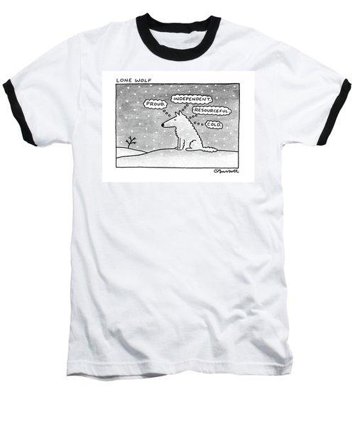 Lone Wolf: Baseball T-Shirt