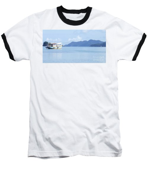 Baseball T-Shirt featuring the photograph Lonely Boat by Andrea Anderegg