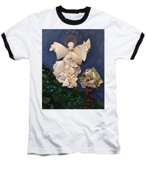 Look Unto The Hills Baseball T-Shirt