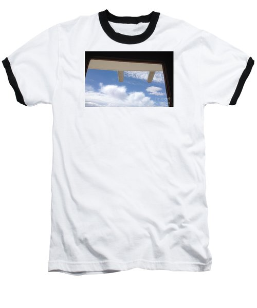 Baseball T-Shirt featuring the photograph Lookout by Nora Boghossian