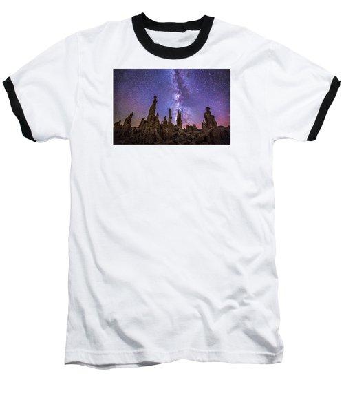 Lost Planet Baseball T-Shirt by Tassanee Angiolillo