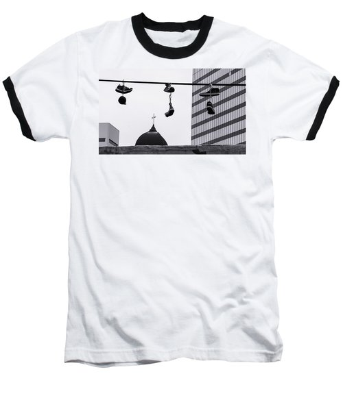 Lost Soles - Urban Metaphors Baseball T-Shirt