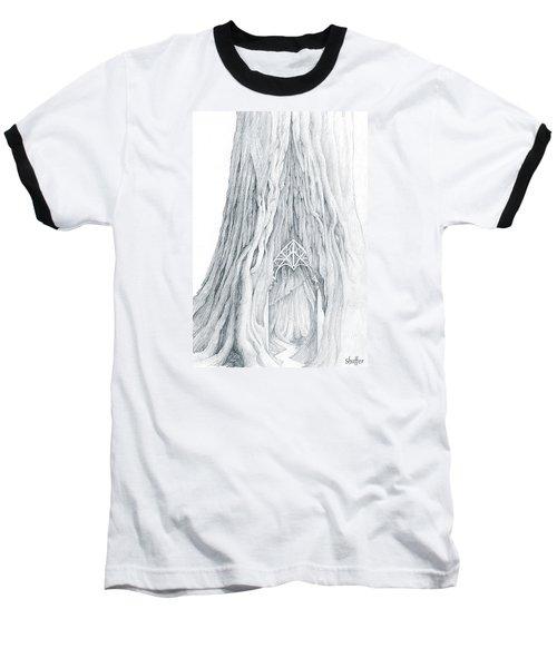 Lothlorien Mallorn Tree Baseball T-Shirt