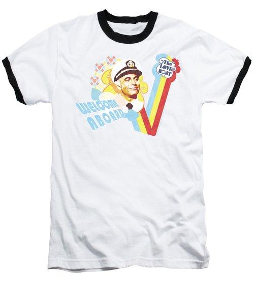 Love Boat - Welcome Aboard Baseball T-Shirt