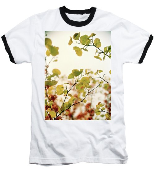 Love Leaf Baseball T-Shirt by Rebecca Harman