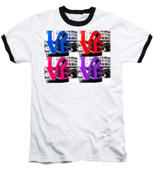 Love Pop Baseball T-Shirt