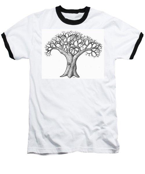 Love Tree Baseball T-Shirt