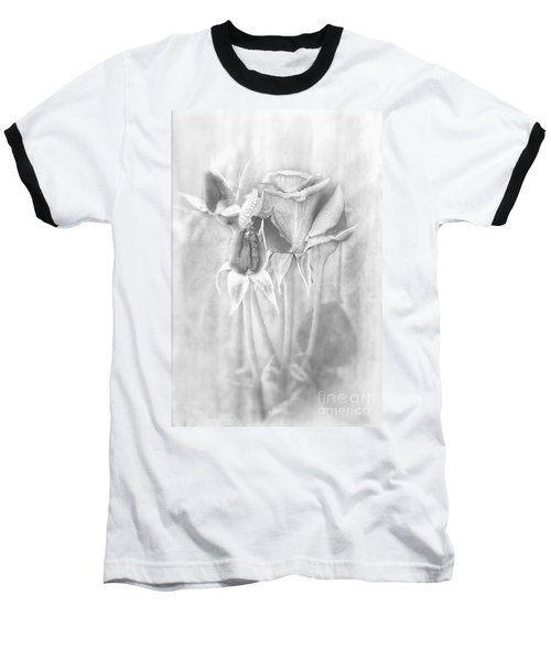 Baseball T-Shirt featuring the photograph Loveliness by Peggy Hughes