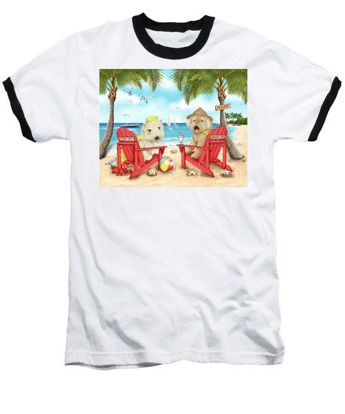 Loving Key West Baseball T-Shirt