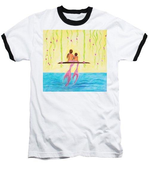 Loving Sunshine Baseball T-Shirt by Leslie Allen