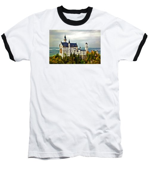 Neuschwanstein Castle In Bavaria Germany Baseball T-Shirt